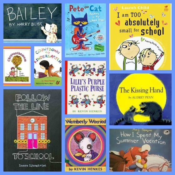 Ten Favorite Back to School Books, from www.ameliesbookshelf.com