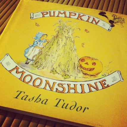 Pumpkin Moonshine, by Tasha Tudor- Amelie's Bookshelf