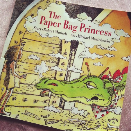 The Paper Bag Princess- Amelie's Bookshelf