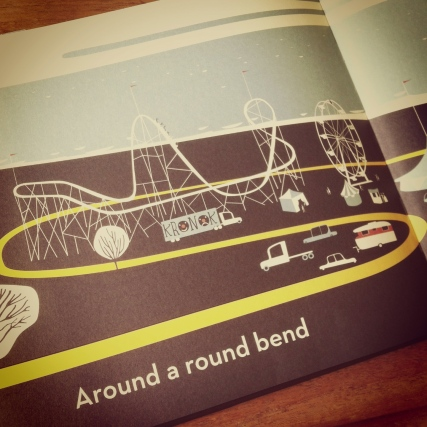 Along a Long Road, by Frank Viva
