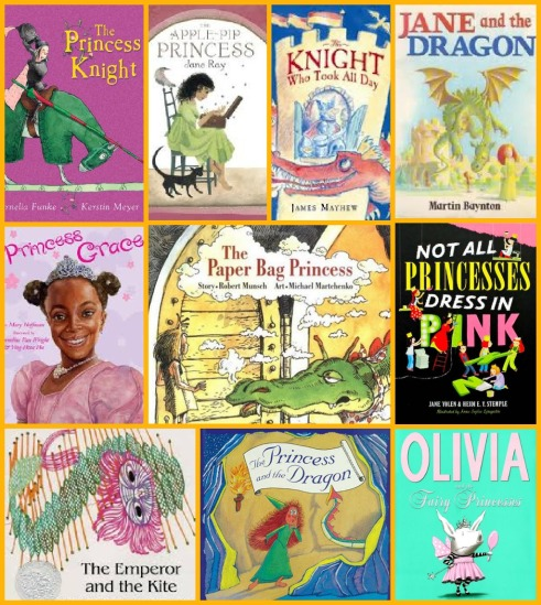 10 Favorite Alternative Princess Books- from www.ameliesbookshelf.com