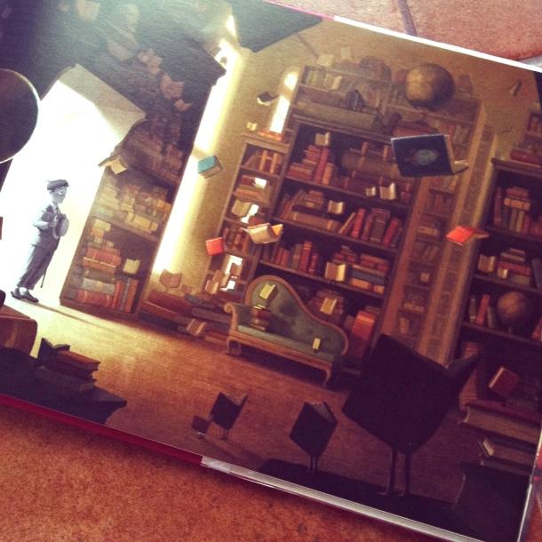 Biblioteca The Fantastic Flying Books of Mr. Morris Lessmore