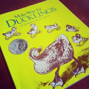 Make Way for Ducklings, by Robert McCloskey