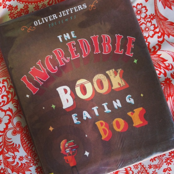 The Incredible Book Eating Boy, Oliver Jeffers, from ameliesbookshelf.com