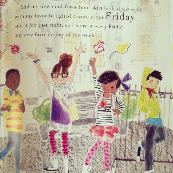 I Had a Favorite Dress, by Boni Ashburn- www.ameliesbookshelf.com