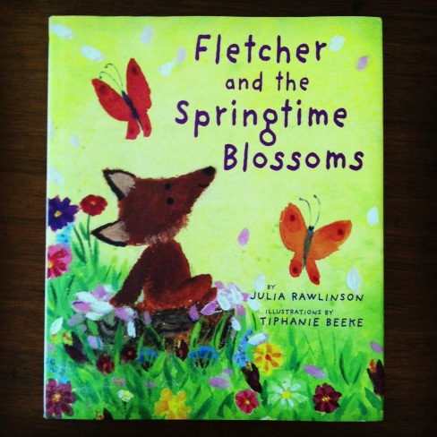 Fletcher and the Springtime Blossoms by Julia Rawlinson, from ameliesbookshelf.com