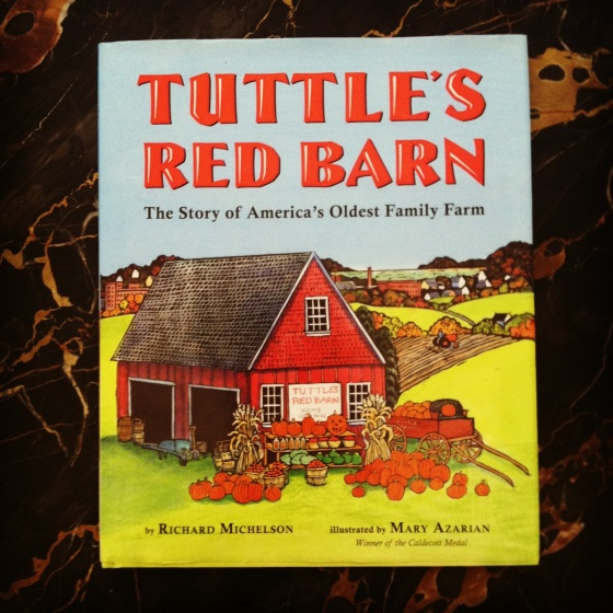 Tuttle's Red Barn, from ameliesbookshelf.com