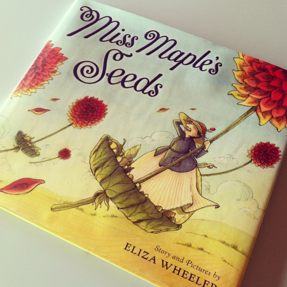Miss Maple's Seeds by Eliza Wheeler, from ameliesbookshelf.com