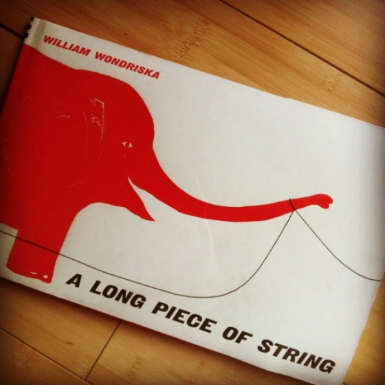 A Long Piece of String by William Wondriska- from ameliesbookshelf.com