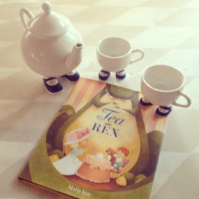 Tea Rex, by Molly Idle
