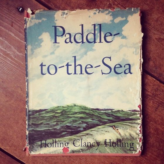 Paddle-to-the-Sea, by Holling Clancy Holling from ameliesbookshelf.com