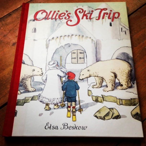 Ollie's Ski Trip, by Elsa Beskow- from ameliesbookshelf.com