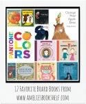12 Favorite Board Books from www.ameliesbookshelf.com