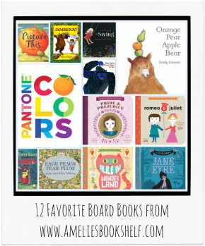 10 (well, 12) Favorite Board Books