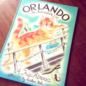 Orlando the Marmalade Cat: A Trip Abroad, by Kathleen Hale