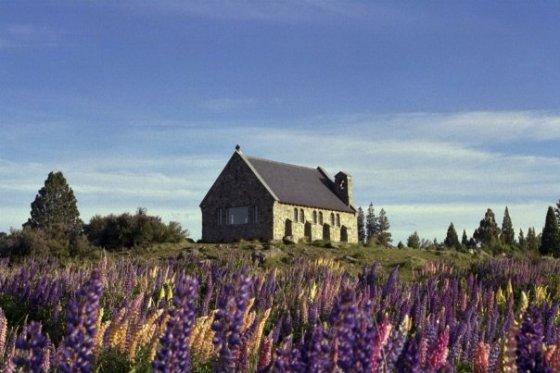 Church of the Good Shepherd, Lake Tekapo New Zealand