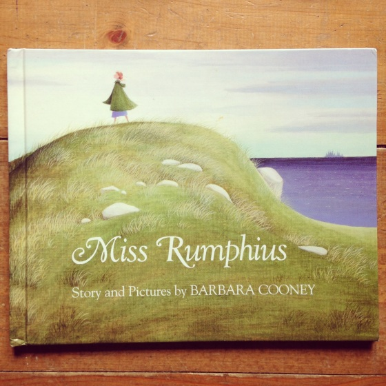 Miss Rumphius, by Barbara Cooney- from www.ameliesbookshelf.com