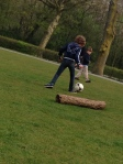 Soccer in the Vondelpark
