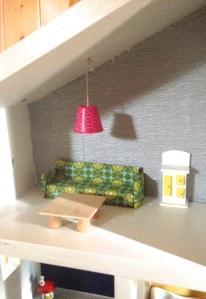 Doll house living room