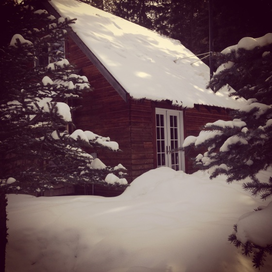 Cabin in the Snow