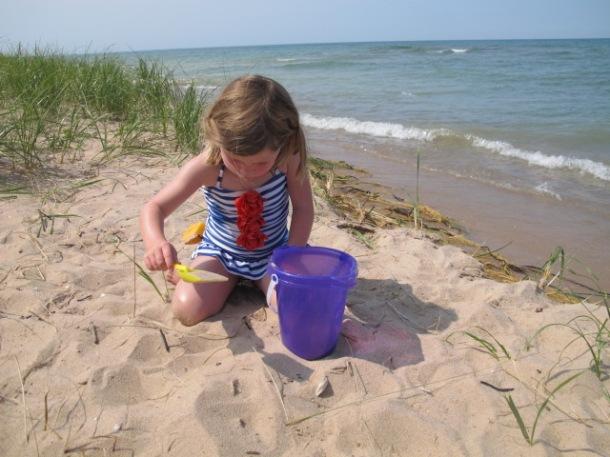 Northern Michigan beach, Good Hart