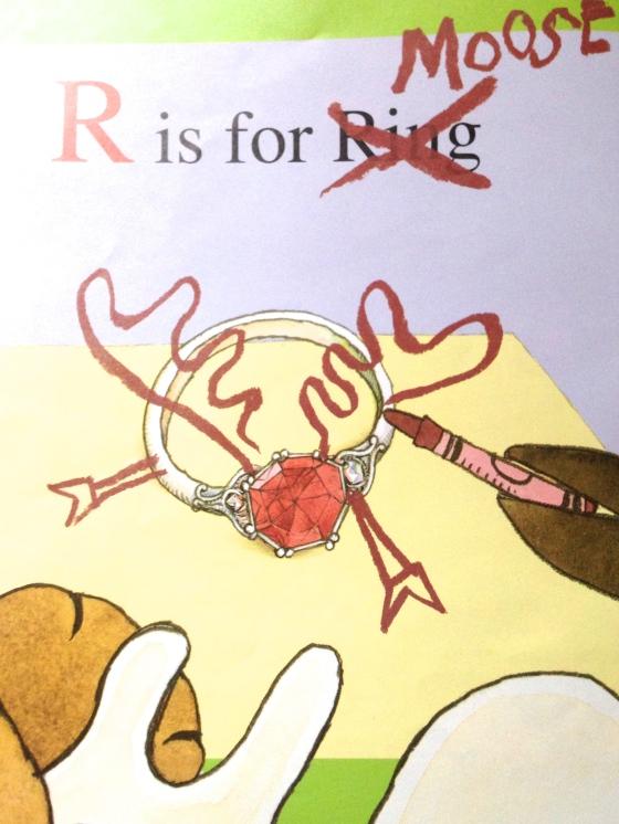 Z is for Moose, from www.ameliesbookshelf.com