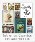 Ten Favorite Banned Children's Books from www.ameliesbookshelf.com
