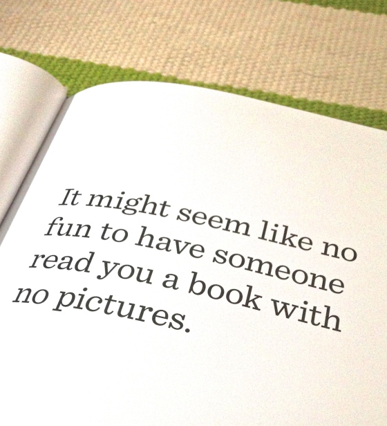 The Book with No Pictures, B.J. Novak- from www.ameliesbookshelf.com