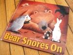 Bear Snores On, by Karma Wilson- from www.ameliesbookshelf.com