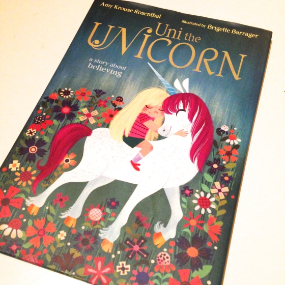 Uni the Unicorn, by Amy Krouse Rosenthal- from Amelie's Bookshelf