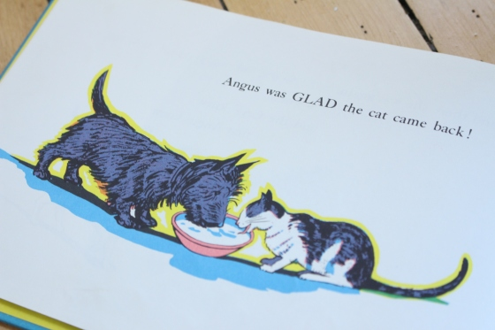 Angus and the Cat, by Marjorie Flack | www.ameliesbookshelf.com