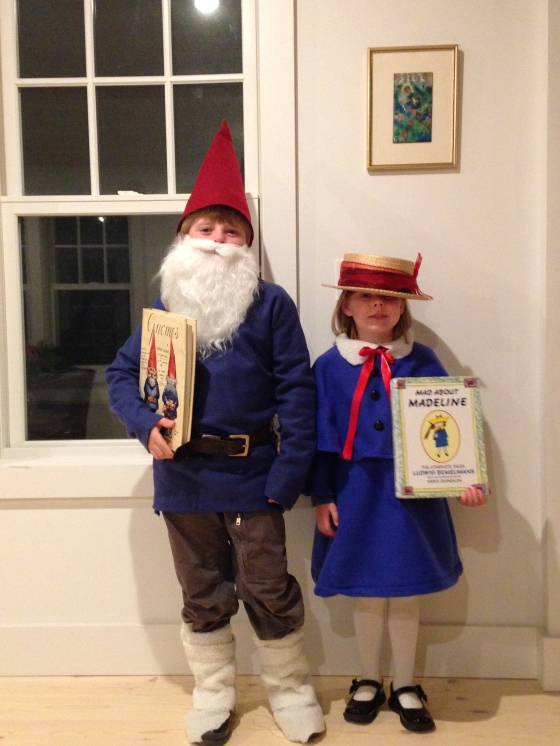Madeline and Gnome, Literary Halloween costumes